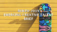 WIN R50 000! EMERGING CREATIVE TALENT 2019 BRIEF
